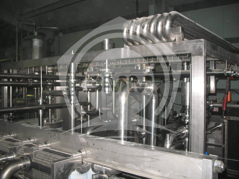 Изображение реализованного проекта на странице Пастеризационные установки