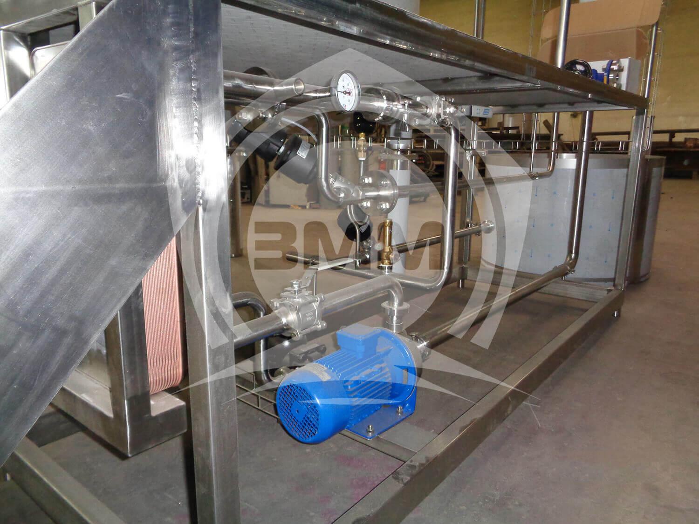 Изображение реализованного проекта на странице Станция для подготовки горячей воды