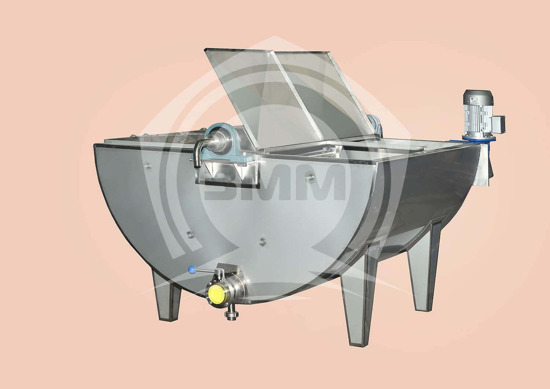 Изображение реализованного проекта на странице Заквасочники и пастеризационные ванны