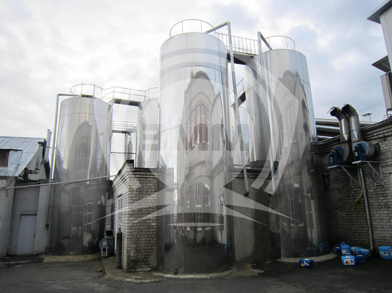 Изображение реализованного проекта на странице Резервуары для хранения