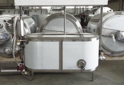 Сыроизготовитель овальной формы с быстросъемной с мешалкой