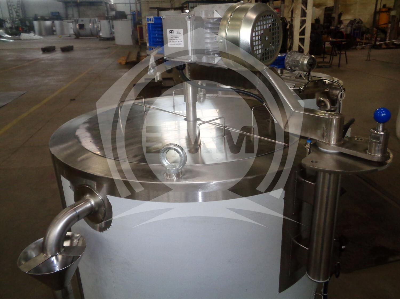 Изображение реализованного проекта на странице Сыроизготовитель с мешалкой на отводящемся кронштейне